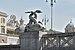 Piazza del Popolo delfino della Fontana del Nettuno a Roma.jpg