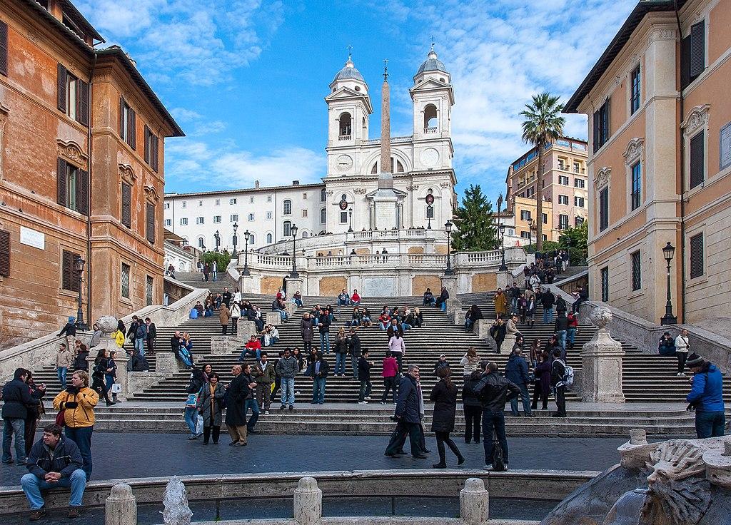 Piazza di Spagna à Rome - Photo de Sergey Ashmarin