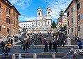 Piazza di Spagna - Rome, Italy - panoramio.jpg