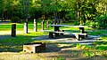Picnic tables in the day use area at Alfred A. Loeb State Park.jpg