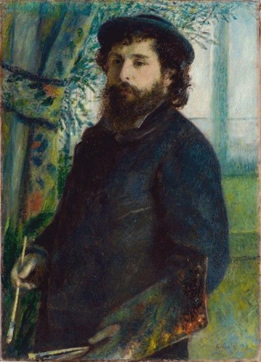 Pierre-Auguste Renoir, 1875, Claude Monet, oil on canvas, 84 x 60.5 cm, Musée d'Orsay, Paris