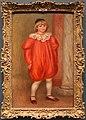 Pierre-auguste renoir, claude renoir vestito da clown, 1909.JPG