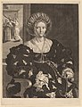 Pieter Holsteyn II after Correggio after Parmigianino, Isabella d'Este, NGA 55493.jpg