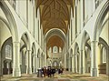 Pieter Jansz. Saenredam, Dutch (active Haarlem and Utrecht) - Interior of Saint Bavo, Haarlem - Google Art Project.jpg