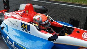 Pietro Fittipaldi - Pietro Fittipaldi on the F3 grid at Spa-Francorchamps 2015.