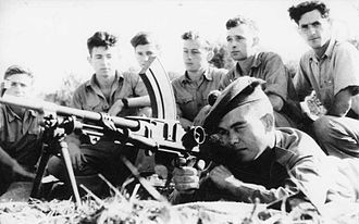 Palmach - Small arms training of B Company