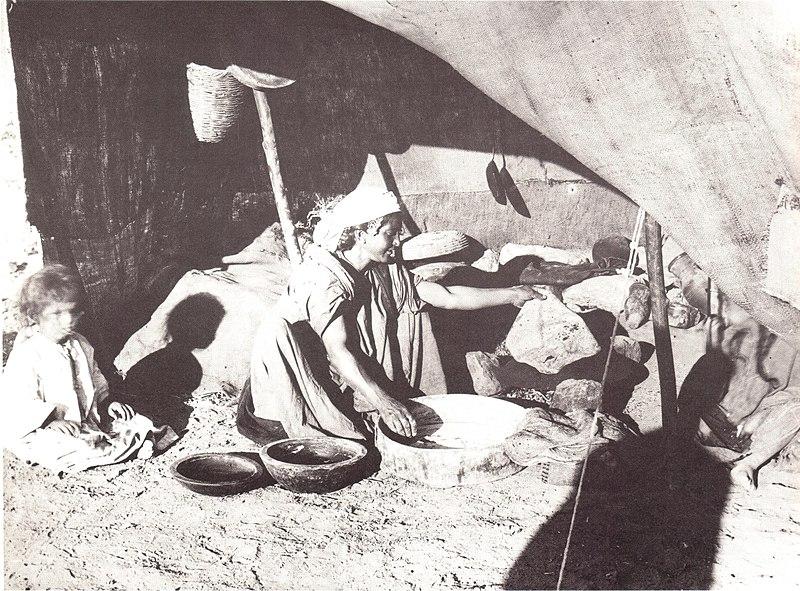 אוהל הנשים הבדואיות