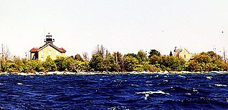 Pilot Island Light lighthouse in Wisconsin, United States