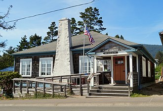 National Register of Historic Places listings in Tillamook County, Oregon - Image: Pine Grove Community House Manzanita Oregon