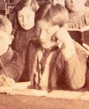 Pinto Colvig - Pinto Colvig in Jacksonville School, 1900