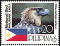 Pithecophaga jefferyi 1997 stamp of the Philippines.jpg