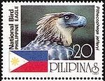 Pithecophaga jefferyi 1997 stamp of the Philippines.jpg