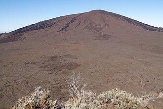 Piton de la Fournaise - A shield volcano