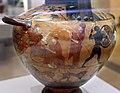 Pittore del louvre E739, hydria ricci, etruria (artigiani da focea), dalla banditaccia, 530 ac. ca., duello di achille e mnemone 1 teti, eos e zeus.jpg