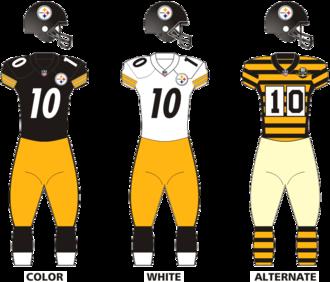 2014 Pittsburgh Steelers season - Image: Pittsb steelers uniforms 12
