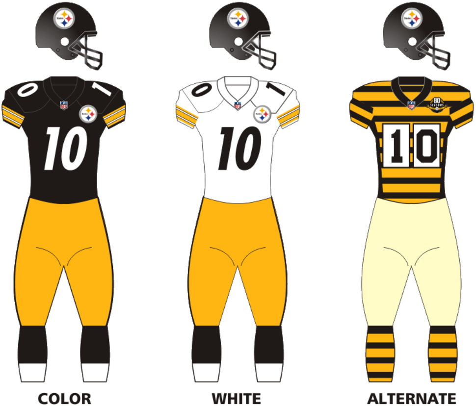 Pittsb steelers uniforms12