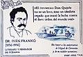 Placa a Iván Frankó - Miguel de Cervantes, Universidad de Valencia.jpg