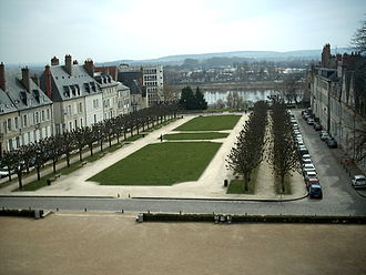 Nevers - Place de la République in Nevers