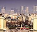 Place du Trocadéro from the Eiffel Tower, Paris March 2011.jpg