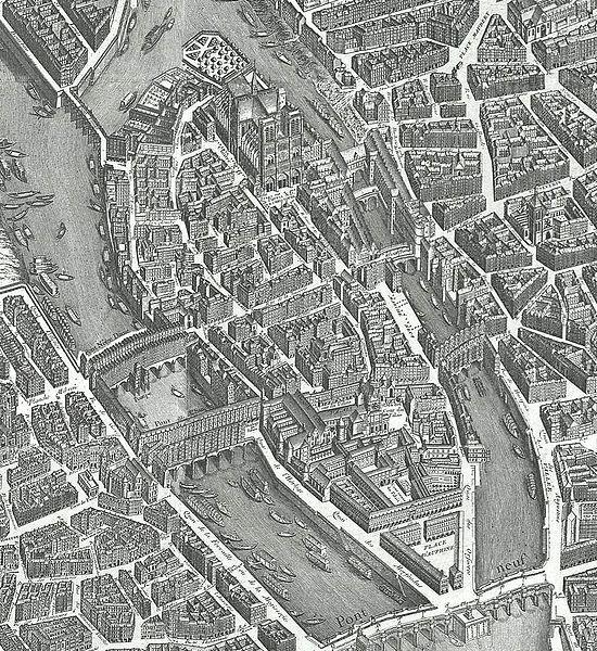 Fichier:Plan de Turgot - 1739 - Extrait Île de la Cité.jpg