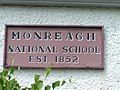 Plaque, Monreagh National School - geograph.org.uk - 1392249.jpg