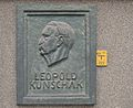 Plaque to Leopold Kunschak by Mario Petrucci.jpg