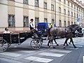 Platnéřská, kočár u Klementina.jpg