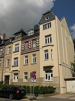Wildstraße in Plauen