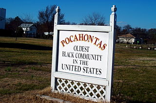 Pocahontas Island United States historic place