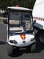 Police golf cart, Andrássy Avenue, 2018 Terézváros.jpg