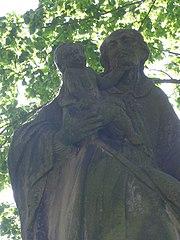 Sloup se sochou svatého Antonína Paduánského