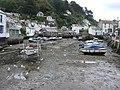 Polperro Harbour - low tide - geograph.org.uk - 532369.jpg