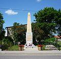Pomnik Towarzystwa Powstańców i Wojaków w Luzinie.JPG