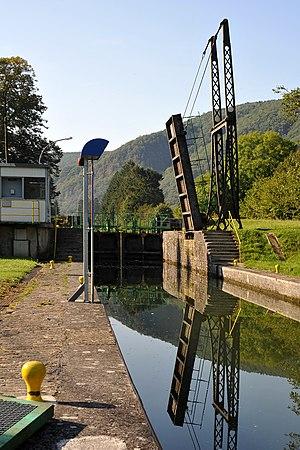 Anchamps - Bridge at the Lock at Anchamps