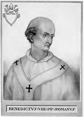 Pope Benedict VIII - Image: Pope Benedict VIII