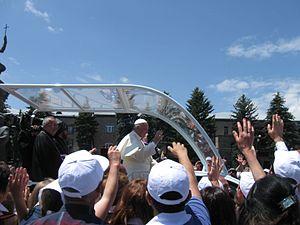 Pope Francis, Gyumri 05