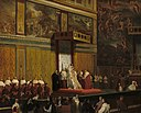 Pope Pius VII in the Sistine Chapel A29940.jpg