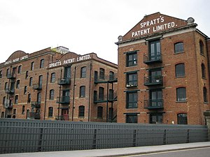Spratt's Complex - Limehouse Cut, former Spratt's pet food factory