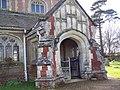 Porch of St Leonard's Church, Sherfield English - geograph.org.uk - 355748.jpg