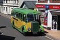 Porlock High Street - Wulfrun Motors GOU732.JPG
