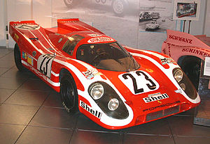 1970 24 Hours of Le Mans - Porsche 917K Kurzheck 4.5L, winner