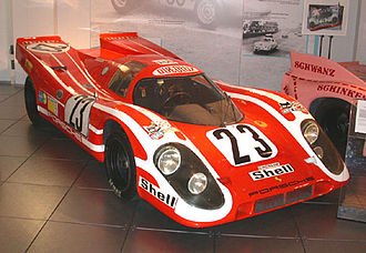 Porsche in motorsport - The 917 gave Porsche its first 24 Hours of Le Mans win in 1970.