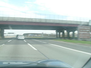 New Jersey Route 65 - Image: Port Street over the New Jersey Turnpike