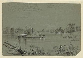 Port Walthall - Views on the Appomattox at Port Walthall
