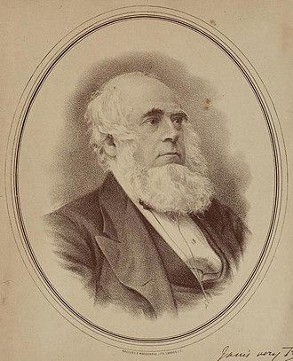 Henry Richard - Portrait of Henry Richard in 1877