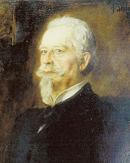 Portrait of Otto von Faber du Faur painted by Franz von Lenbach in Munich.jpg