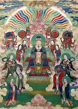 Portraits of Jade Emperor and the Heavenly Kings.JPG