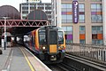 Portsmouth and Southsea - SWR 450004+450012 (Stagecoach livery).JPG