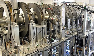 Positronium - The Positronium Beam at University College London, a lab used to study the properties of positronium