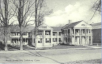 Salisbury, Connecticut - Maple Shade Inn (1908 postcard)